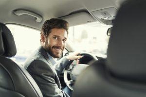 een leaseauto rijden