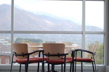 Inspirerende externe vergaderzaal
